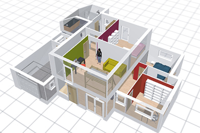 Plan maison virtuel gratuit for Maison 3d gratuit
