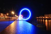Les anneaux by night