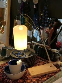 lampe aux lignes zen